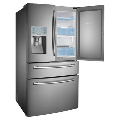 Samsung Appliance Rf30hbedbsr 36 Inch French Door