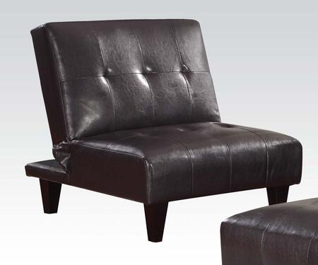 Acme Furniture 57010 Conrad Series  with Wood Frame in Espresso
