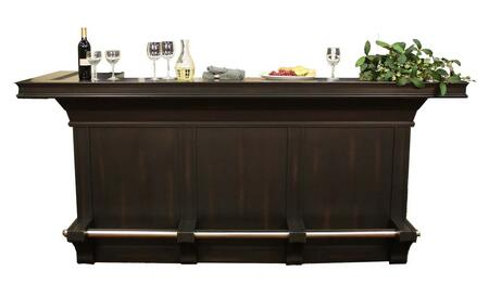 "American Heritage 600028PCS Calcutta Series 95.5"" Home Bar,"