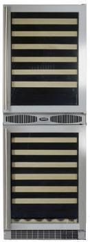 "Marvel 66SWCEBBGL 24.13"" Freestanding Wine Cooler |Appliances Connection"