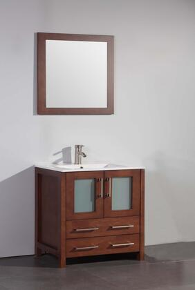 Legion Furniture WA7930 30in. Solid Wood Sink Vanity With Mirror-No Faucet