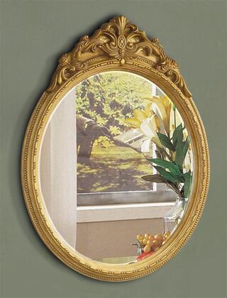 Yuan Tai YV4443M Yves Series Oval Portrait Wall Mirror