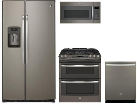 GE Profile 766740 Slate Kitchen Appliance Packages