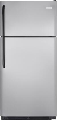 Frigidaire FFHT1826LM Freestanding Top Freezer Refrigerator with 18.2 cu. ft. Total Capacity 2 Glass Shelves 4.07 cu. ft. Freezer Capacity  Appliances Connection