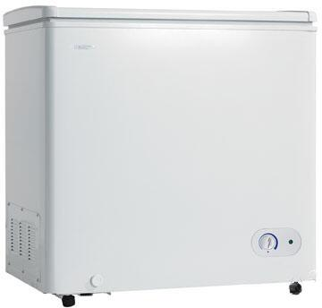 Danby DCF550W1 Freestanding Chest Counter Depth Freezer with 5.5 cu. ft. Capacity White Door  Manual Defrost |Appliances Connection