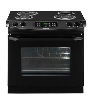 "Frigidaire FFED3015LB 30"" Slide-in Electric Range with Coil Cooktop 4.2 cu. ft. Primary Oven Capacity"