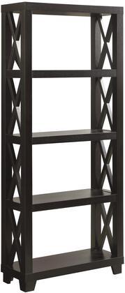 Coaster 801353 Humfrye Series Wood 4-5 Shelves Bookcase