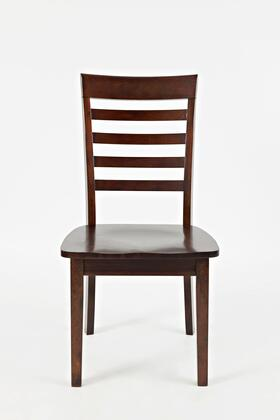 """Jofran Everyday Classics 16X9-912KD 37"""" Ladder Back Chair with Acacia Solids and Veneer, Tapered Legs and Casual Style in"""