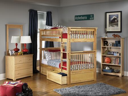Atlantic Furniture COLOTTNM Colorado Series  Bed