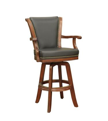 American Heritage 100613BR Napoli Series Residential Leather Upholstered Bar Stool