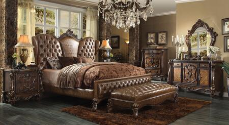 Acme Furniture 21094CK6PC Versailles California King Bedroom