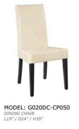 Global Furniture USA G020DCWH Contemporary Wood Frame Dining Room Chair