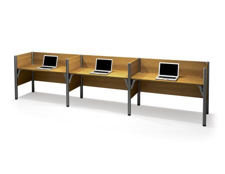 Bestar Furniture 100872C Pro-Biz Triple side-by-side workstation