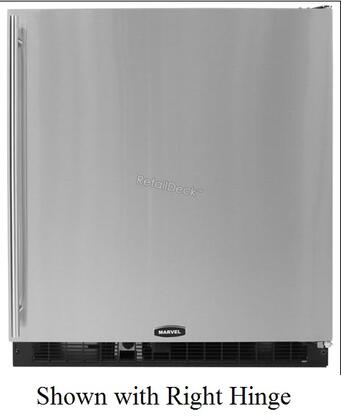 Marvel 80RFBSFL  Built In Counter Depth Compact Refrigerator with 7.16 cu. ft. Capacity, 2 Wire Shelves
