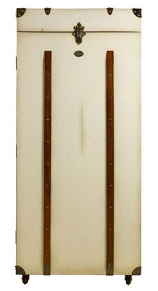"""Authentic Models MF134X Grand Club Trunk Bar, 21.25"""" with Maple, Pine, Leather, Brass & MDF Material"""