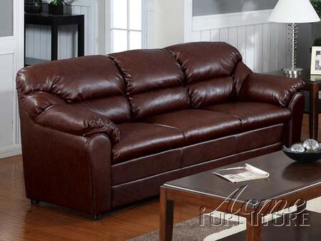 Acme Furniture 15150 Standford Series  Leather Match Sofa