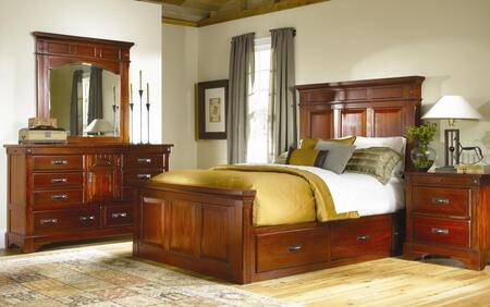 AAmerica KALRM5031Q6P Kalispell Queen Bedroom Sets