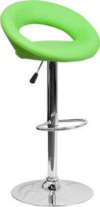 Flash Furniture DS811GRNGG Residential Vinyl Upholstered Bar Stool