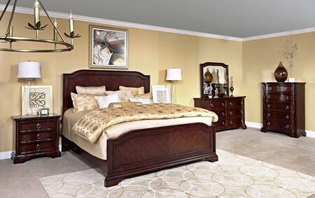 Broyhill 4640KPB2NCDM Elaina King Bedroom Sets