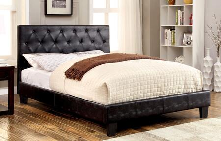 Furniture of America CM7795BKQBED Kodell Series  Queen Size Panel Bed