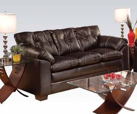 Acme Furniture 50355 Hayley Series  Bonded Leather Sofa