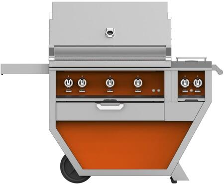 54 in Deluxe Grill with Side Burner    Citra