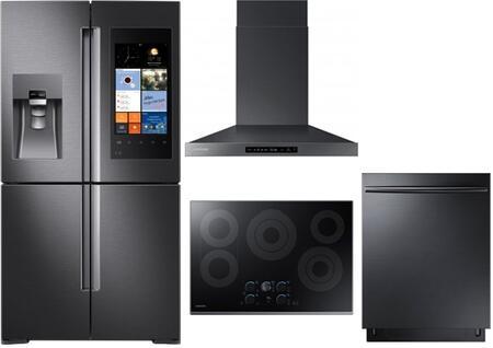 Samsung Appliance 714733 Black Stainless Steel Kitchen Appli