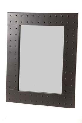 Stone County Ironworks 904-228 Merrimack Rivet Wall Mirror