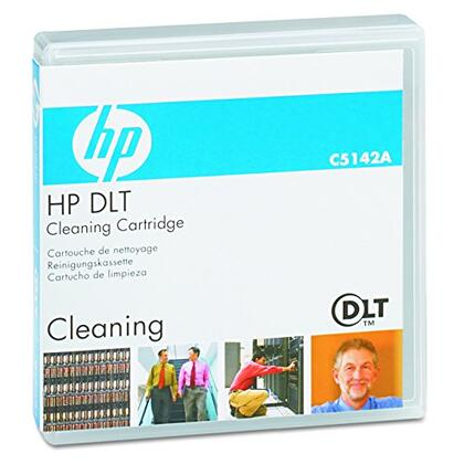 Hewlett Packard Dlt Tape Cleaning Cart 20 Head Cleaning Cycles PCart 1 Pk 0