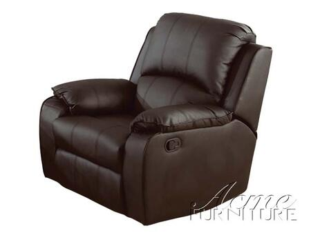 Acme Furniture 15212 Caray Series Contemporary Bonded Leather Wood Frame  Recliners