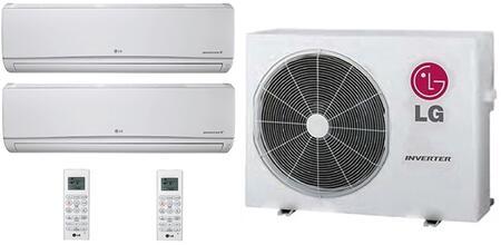 LG 706636 Dual-Zone Mini Split Air Conditioners