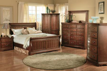 Accent HA859501  King Size Sleigh Bed