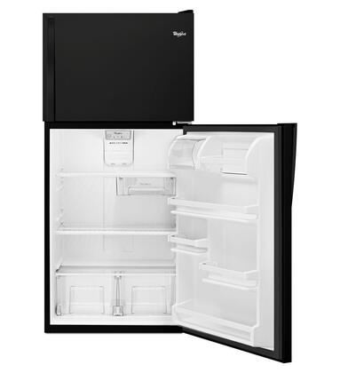 "Whirlpool WRT138FZD Energy Star Rated 30"" Top-Freezer Refrigerator with 18.2 Cu. Ft. Capacity, Electronic Temperature Control, Flexi-Slide Bin, 3 Shelves and 5 Door Storage Bins in"