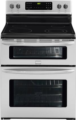 Frigidaire FGEF301DNF Gallery Series Electric Freestanding Range with 4 Smoothtop Cooktop Oven 4.4 cu. ft. Primary Oven Capacity |Appliances Connection