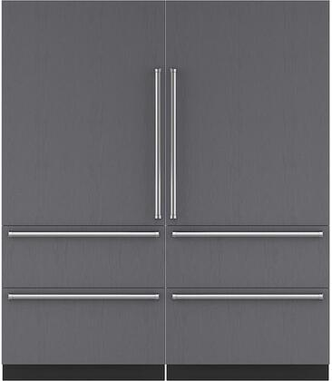 Sub-Zero 710464 Side-By-Side Refrigerators