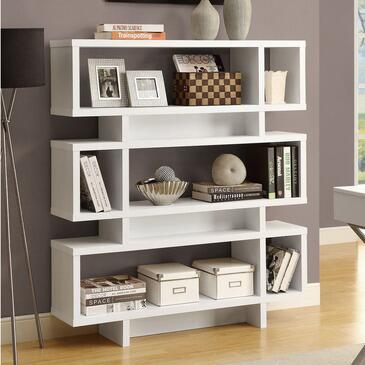 Monarch I2532  Wood 3 Shelves Bookcase