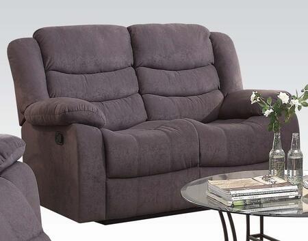 Acme Furniture 51411 Jacinta Series Velvet Reclining Loveseat