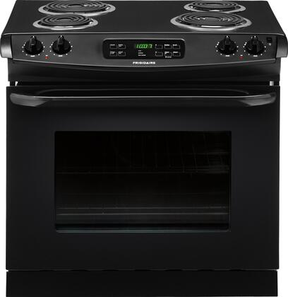 "Frigidaire FFED3015P 30"" 4.6 cu. ft. Drop-In Electric Range, with 5 Rack Positions, Ready Select Controls, Power Clean, Large Capacity and ADA Compliance"