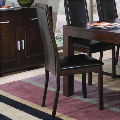 Coaster 101392 Morningside Series Contemporary Bycast Leather Wood Frame Dining Room Chair |Appliances Connection