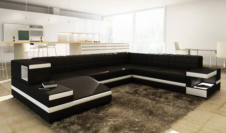 VIG Furniture VGEV1201 Divani Casa Series Stationary Bonded Leather Sofa