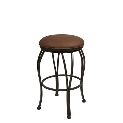 Pastel Furniture QLLX215 Lexington Bar Height Backless Barstool in Bronze