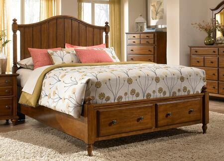 Broyhill HAYDENPANELLCK  King Size Panel Bed