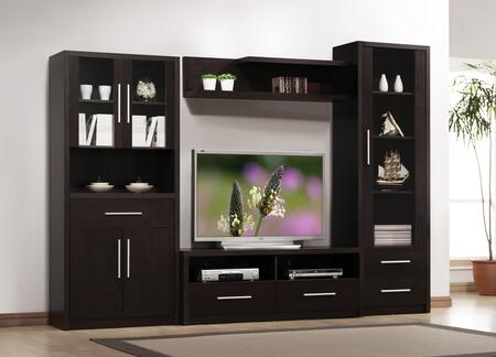 Acme Furniture 08328SET Malloy Entertainment Centers