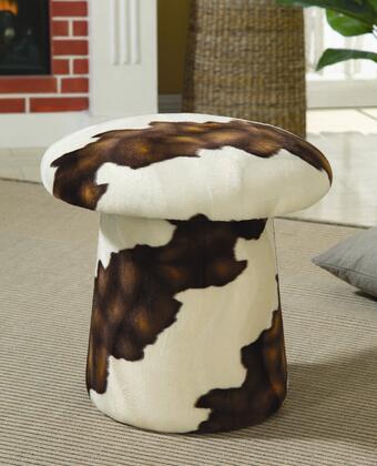 Coaster 500918 Neylandville Series Traditional Fabric Ottoman