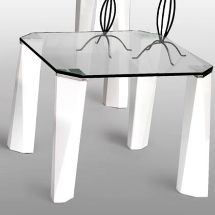 Chintaly WINTECLT Wintec Series Modern Square End Table