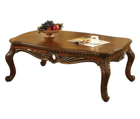 Acme Furniture 80590 Dark Brown Traditional Table