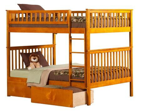 Atlantic Furniture AB56547  Full Size Bunk Bed