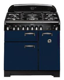 AGA ALEG44ECBL Legacy Series Electric Freestanding Range with Smoothtop Cooktop, 2.2 cu. ft. Primary Oven Capacity, Storage in Blue