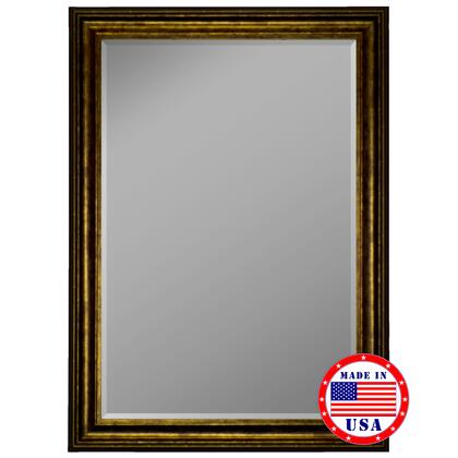 Hitchcock Butterfield 81260X 2nd Look Atlantis Olde Gold Framed Wall Mirror