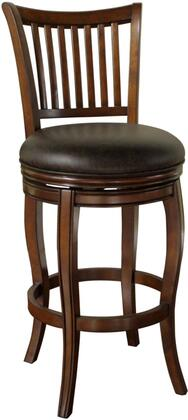 American Heritage 134902SD Maxwell Series Residential Bonded Leather Upholstered Bar Stool